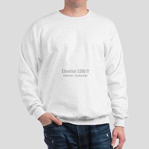 High_Town_wht1 Sweatshirt