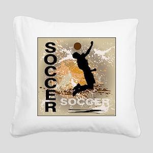 soccer-boys3 Square Canvas Pillow