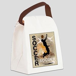 soccer-boys3 Canvas Lunch Bag