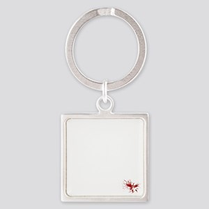 No_More_War_(on-black) Square Keychain