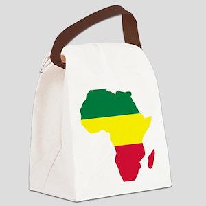 africa_reggae Canvas Lunch Bag