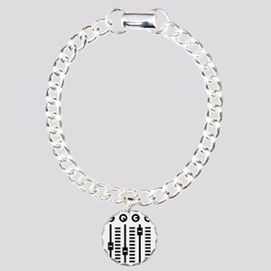 mixing_console Charm Bracelet, One Charm
