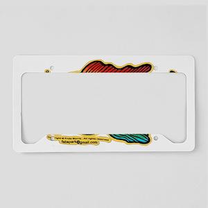 Rainbow Fish License Plate Holder