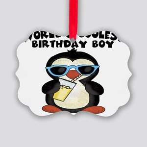 birthday boy coolest Picture Ornament