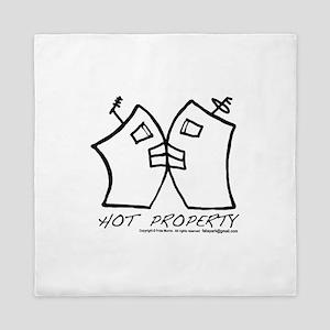 Hot Property  B-L-DING DarkText Queen Duvet
