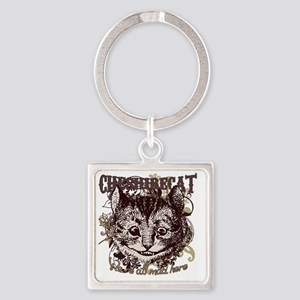 cat-flourishes Square Keychain