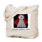 Dajjal System .com Tote Bag