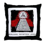 Dajjal System .com Throw Pillow