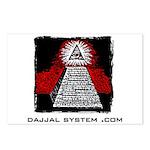 Dajjal System .com Postcards (Package of 8)