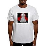 Dajjal System .com Ash Grey T-Shirt