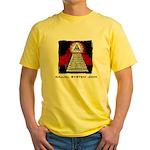 Dajjal System .com Yellow T-Shirt