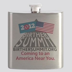 BirtherSummitShirt Flask