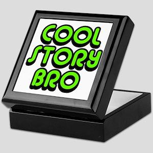 Cool-Story-Bro-2-(green) Keepsake Box