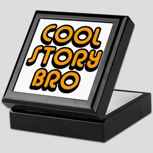 Cool-Story-Bro-2-(orange) Keepsake Box