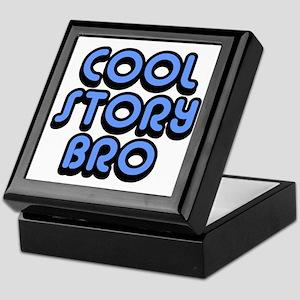 Cool-Story-Bro-2-(blue) Keepsake Box