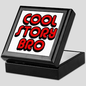 Cool-Story-Bro-2-(red) Keepsake Box