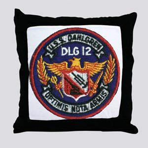 dahlgrendlg patch Throw Pillow