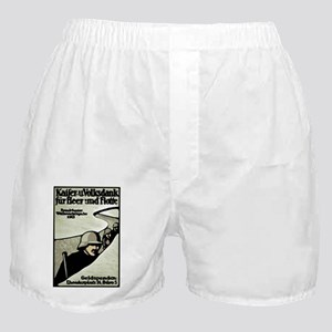Kaiser's Christmas Support German WWI Boxer Shorts