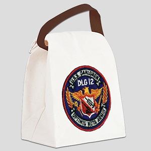 dahlgrendlg patch Canvas Lunch Bag
