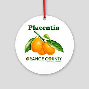 placentia-design Round Ornament