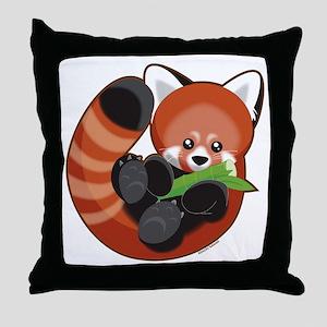 redpanda Throw Pillow