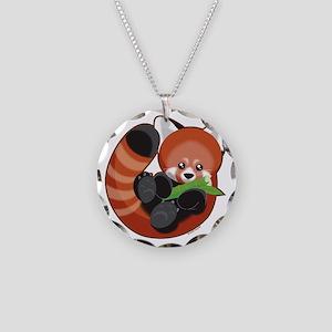 redpanda Necklace Circle Charm