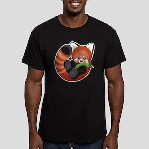 redpanda Men's Fitted T-Shirt (dark)