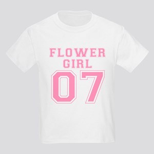 Flower Girl '07 Kids T-Shirt (TIFFANI)