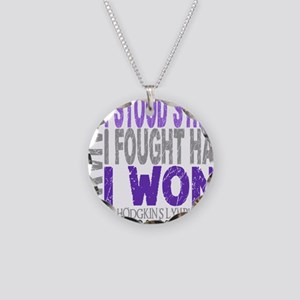 D Survivor 4 Lymphoma Hodgki Necklace Circle Charm