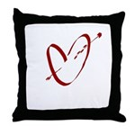 Heart of Hearts Throw Pillow