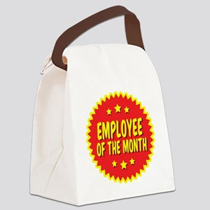 employee-of-the-month-001 Canvas Lunch Bag