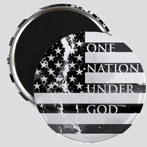 one nation gray Magnet
