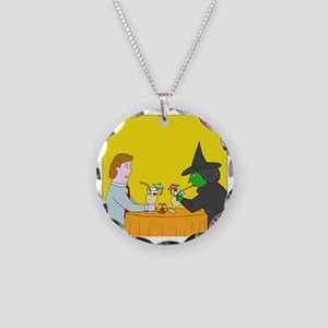 Pina Coladas - no text Necklace Circle Charm