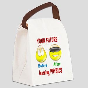 FuturePhysics Canvas Lunch Bag