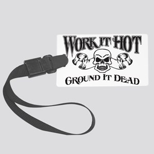 ground it dead 1 Large Luggage Tag