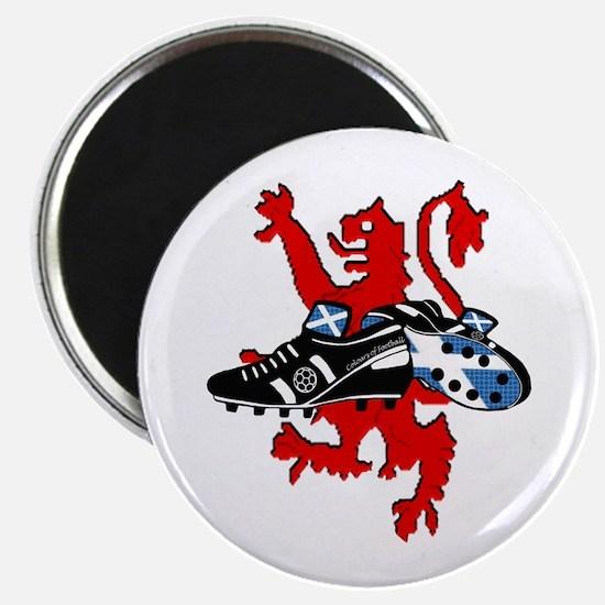 Saltire Football Boots Lion Rampnt Combi Magnet