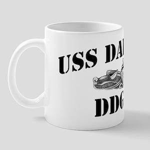 dahlgrenddg black letters Mug