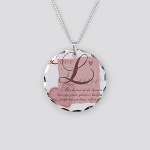 FruitLove Necklace Circle Charm