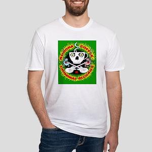 Aurora Criminal-green shirt copy Fitted T-Shirt