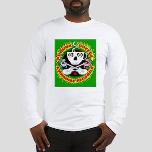 Aurora Criminal-green shirt co Long Sleeve T-Shirt