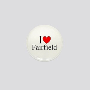 """I Love Fairfield"" Mini Button"