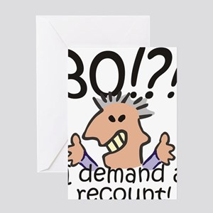 Recount 80th Birthday Greeting Card