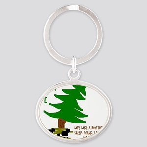 FORESTLIFE47411 Oval Keychain