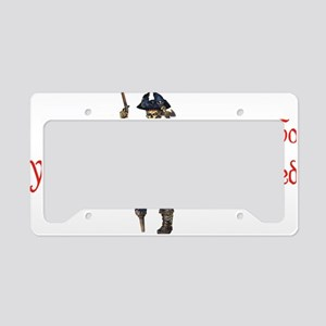 Avast wench License Plate Holder