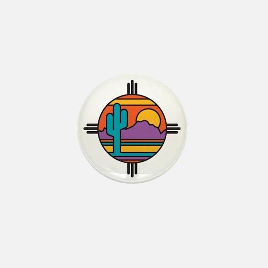 Desert Mini Button
