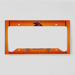 Wall Peel Big Thunderbird License Plate Holder