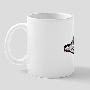 dace white letters Mug