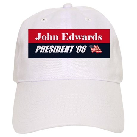 JOHN EDWARDS FOR PRESIDENT BU Cap