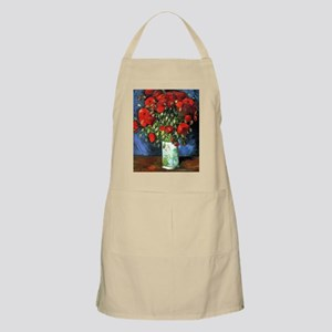 Red Poppies -NC Apron