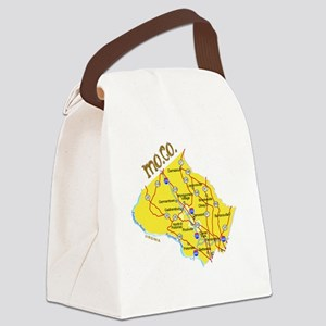 moco_towns Canvas Lunch Bag